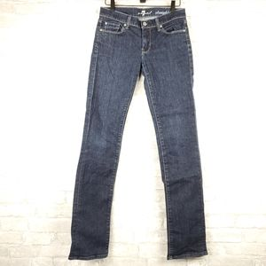 7 For All Mankind straight leg Jean | Size 27